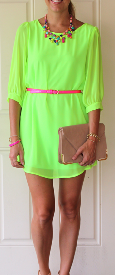 Today's Everyday Fashion: Neon