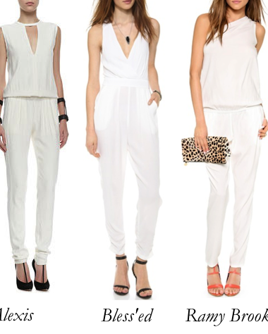 Top 5 White Jumpsuits: The Summer Set