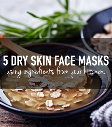 5 DIY face masks for dry skin using only natural ingredients