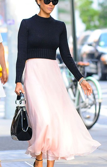 The Perfect Pink Skirt
