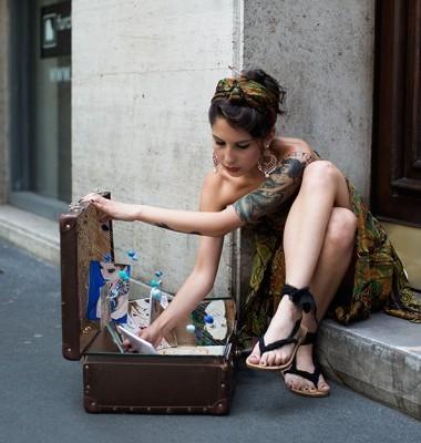 On the Street….Via Borgonuovo, Milan