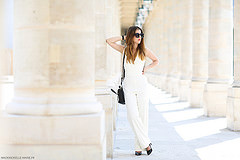 "Shooting with fashion blogger ""Elodie in Paris"""