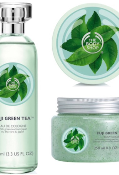 The Body Shop – Green Tea range