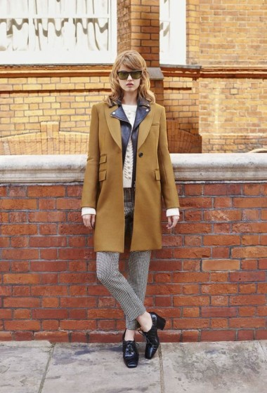 Lindsey Wixson wears vintage styles for Bergdorf Goodman