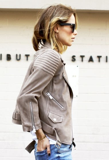 Anine Bing Shows A Casual Cool Way To Wear Suede For Fall