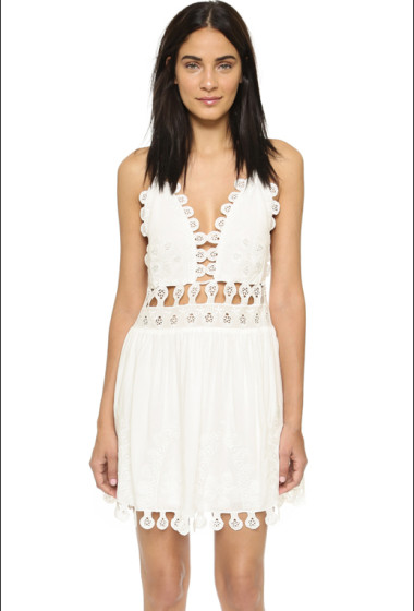 Under $100: A Flirty And Feminine Chloé-Inspired White Dress