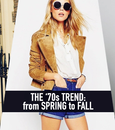 11 ways to take your favourite '70s spring pieces into fall