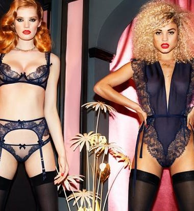 Agent Provocateur A/W '15 look book