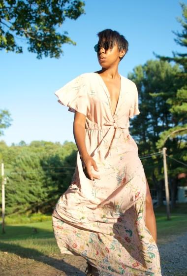 2 Ways To Wear A Maxi Dress