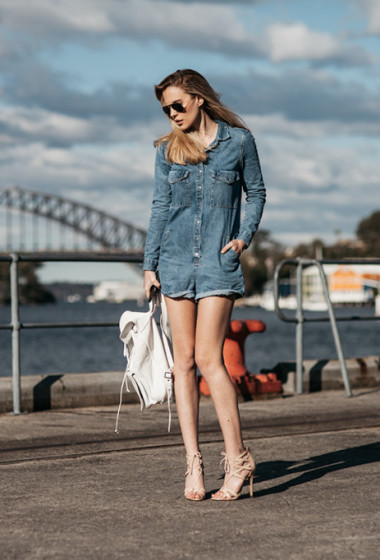 How To: Denim Playsuit