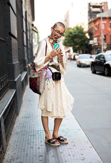 On the Street….Prince St., New York