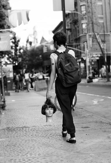 On the Street…Prince St., New York
