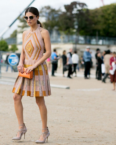 Pleats please: in Paris