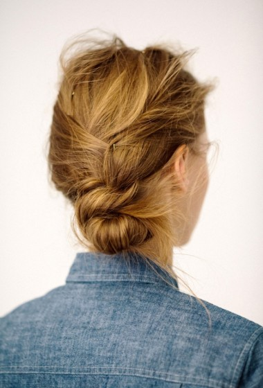 Hair Inspiration: The Low Messy Side Knot