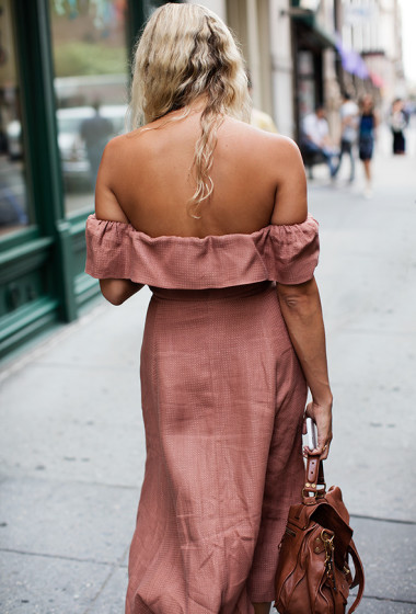 On the Street…Backless, New York