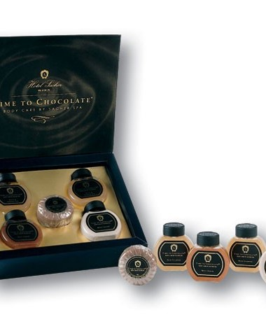 Sacher's Time to Chocolate: A Luxurious Viennese Bath & Body Line