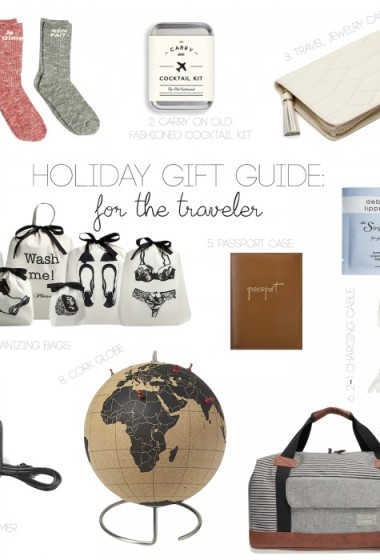 HOLIDAY GIFT GUIDE: For The Traveler!
