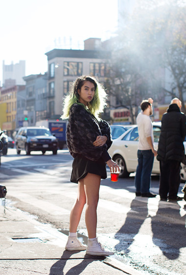 On the Street….Bowery, New York