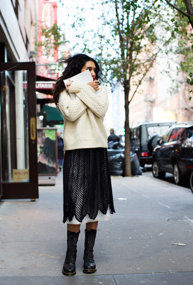 On the Street…Mulberry St., New York