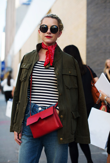 On the Street…Bandanas & Stripes, New York