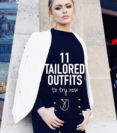 11 tailored blogger outfits that will make you want to get your suit on