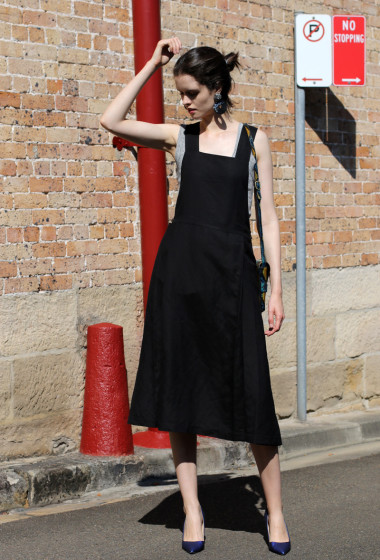 Key Piece: The Linen Pinafore