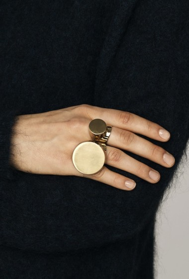 Jewelry Crush: Minimal Statement Rings