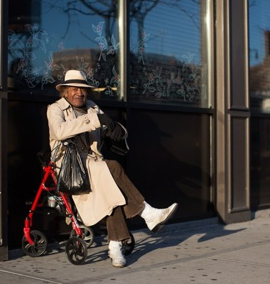 On the Street…Freddy Red, Inwood, New York