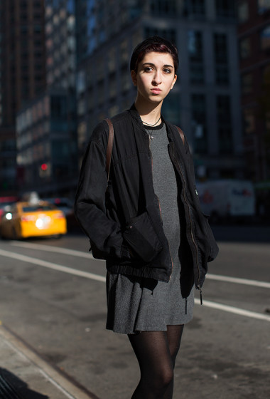 On the Street…Sixth Ave., New York