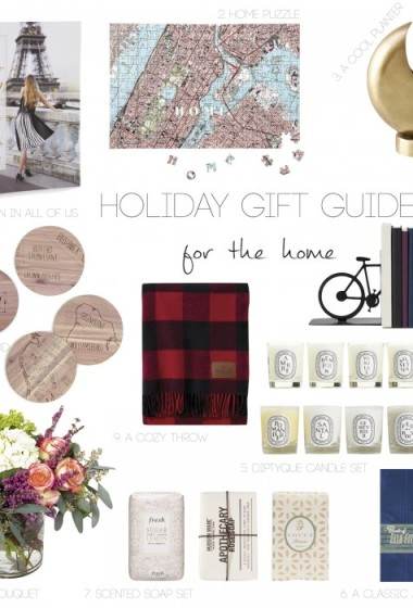 GIFT GUIDE: Gifts For The Home