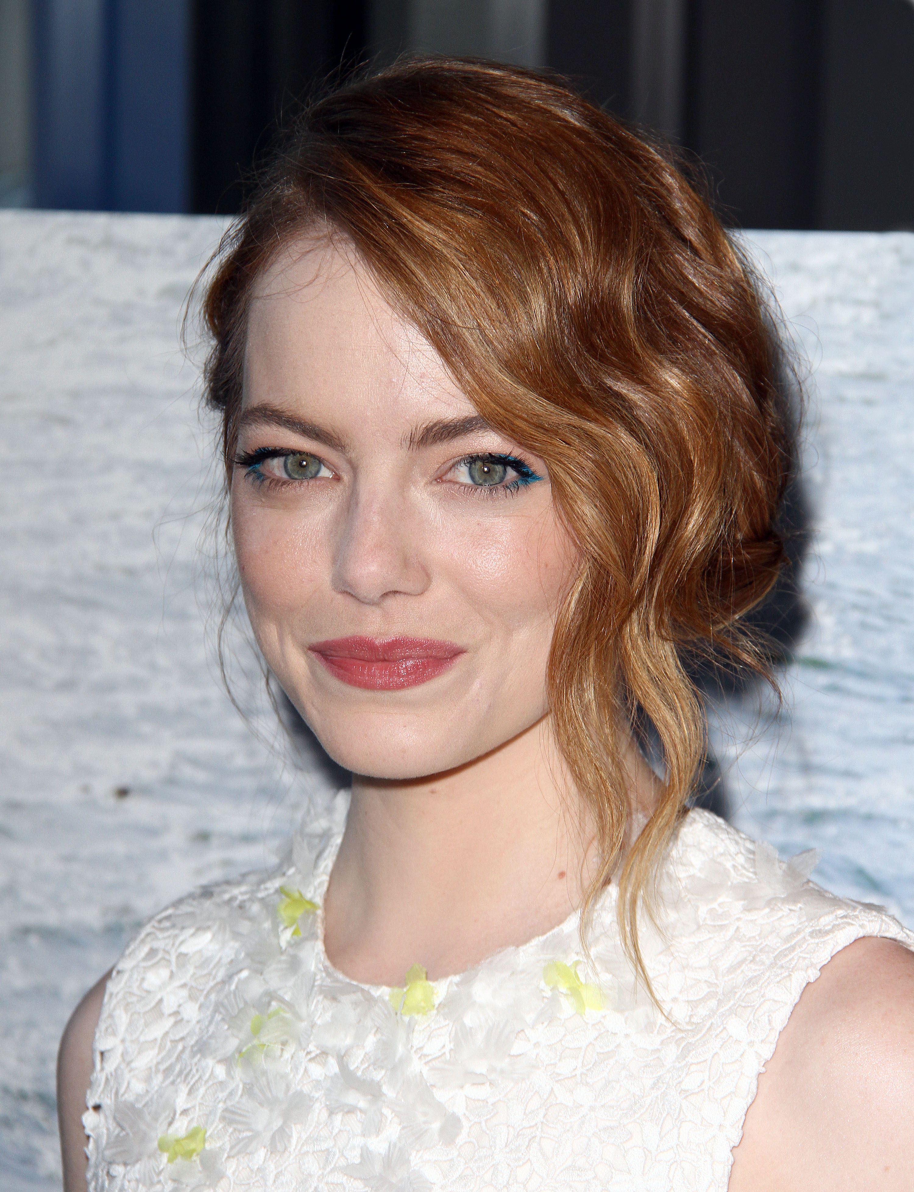 Holiday Hair Inspiration from Emma Stone