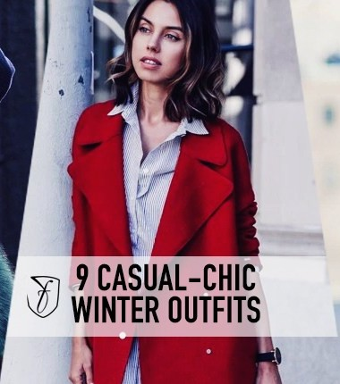9 super-chic casual outfits to rock this winter