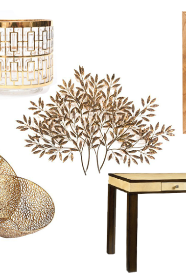 Home Holiday Must-Have: Gold Accents