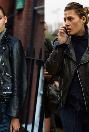 If You're Thinking About…A Leather Jacket