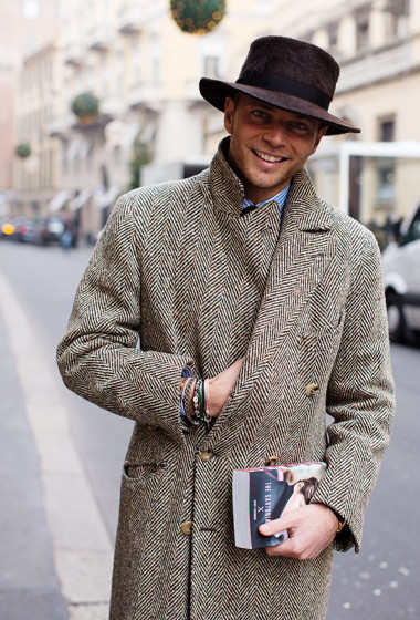 On the Street…Luca Rubinacci, Milan