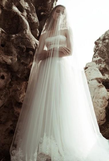 """Unconventional bridal magic: V/V by Veronika Vidya """"Fidelity"""" lookbook"""