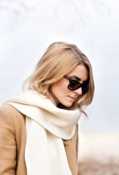 A Simple, Yet Stylish Way To Accessorize A Camel Coat