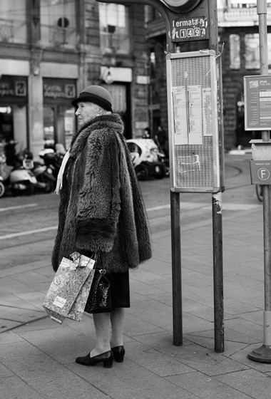 On the Street…Via Dante, Milan