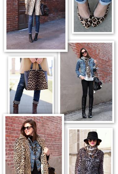 Ways to Wear | Denim + Leopard