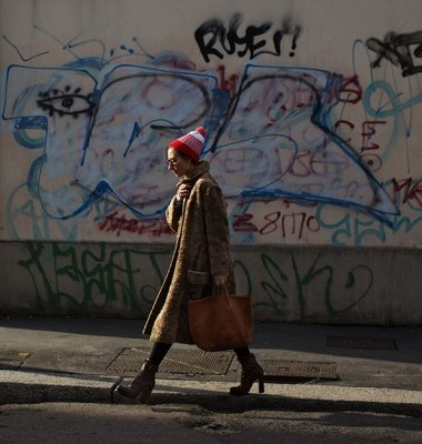 The Girl with the Hopeful Hat, Milan