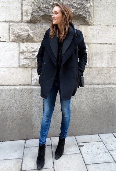 See How This Blogger Masters Winter Layers