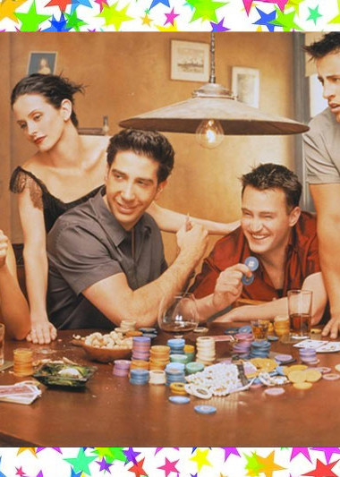A Drinking Game to Play With 'Friends'