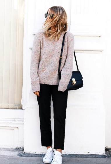 A Minimal Cool Way To Wear Pink
