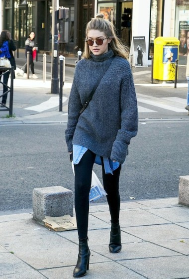 Gigi Hadid Masters The Art Of Casual Layering For Winter