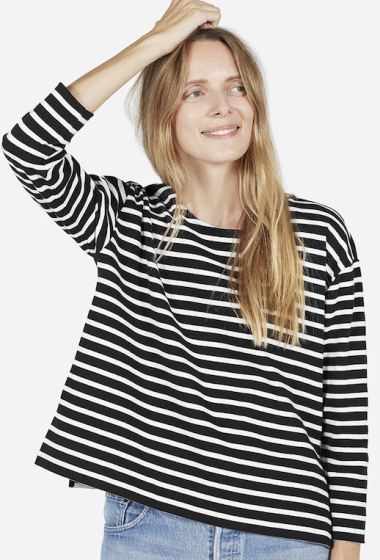 Must-Have: Boxy Striped Tee