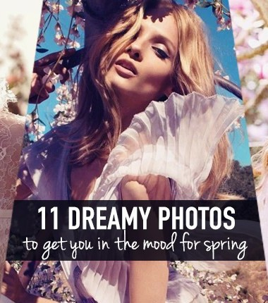 11 ridiculously dreamy fashion photos that will get you in the mood for spring