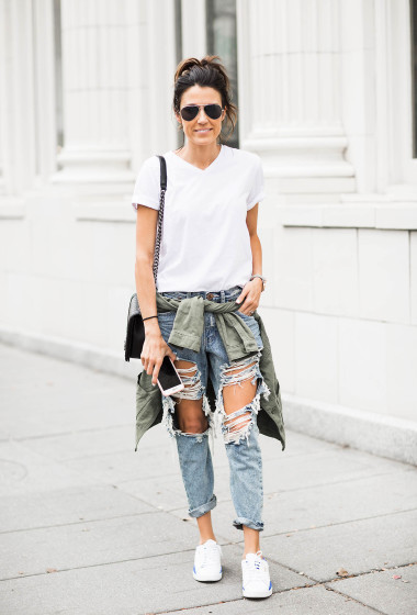 3 Ways To Wear Your Favorite Sneakers from Day to Night