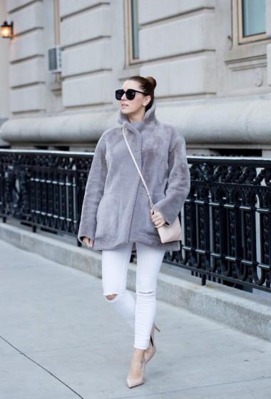 Furry Cocoon Coat