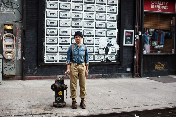 On the Street…Elizabeth St., New York