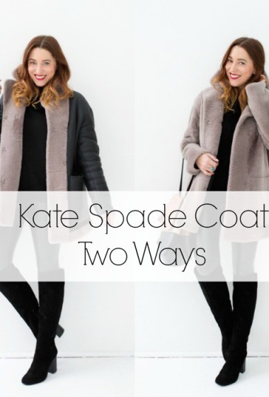 The Reversible Caleen Coat by Kate Spade